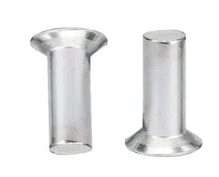 countersunk rivet फ्लैट सिर ठोस कीलक