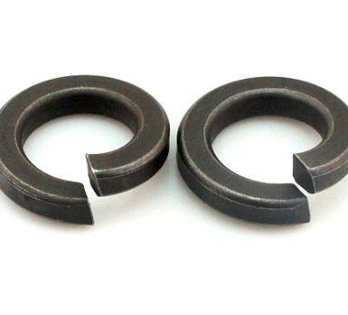काले ऑक्साइड सादे वसंत वॉशर DIN127 DIN128